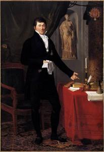 Karl Ludwig Joseph von Keverberg. Gemälde von Joseph-François Ducq http://fr.wikipedia.org